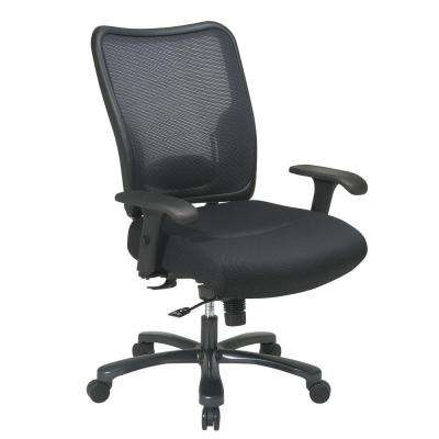 Big and Tall Black AirGrid Back Office Chair