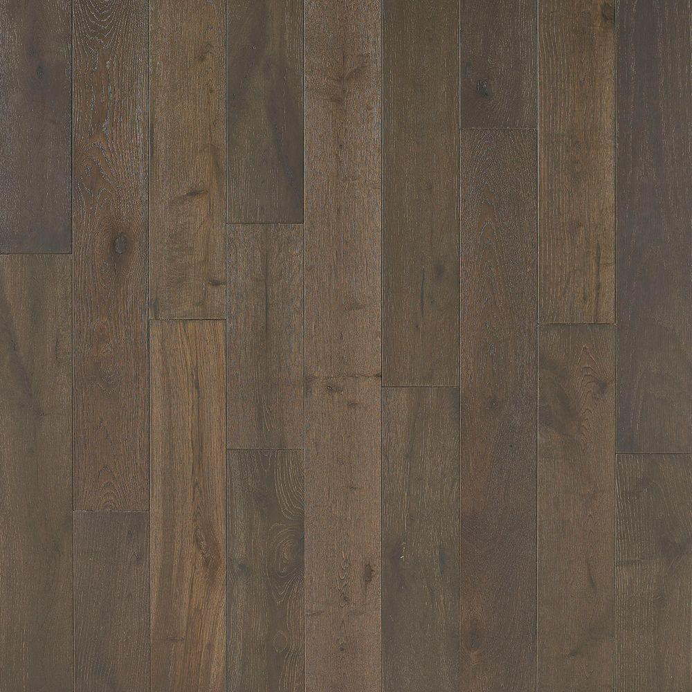 Nuvelle french oak mystic 5 8 in thick x 4 3 4 in wide x for Solid hardwood flooring