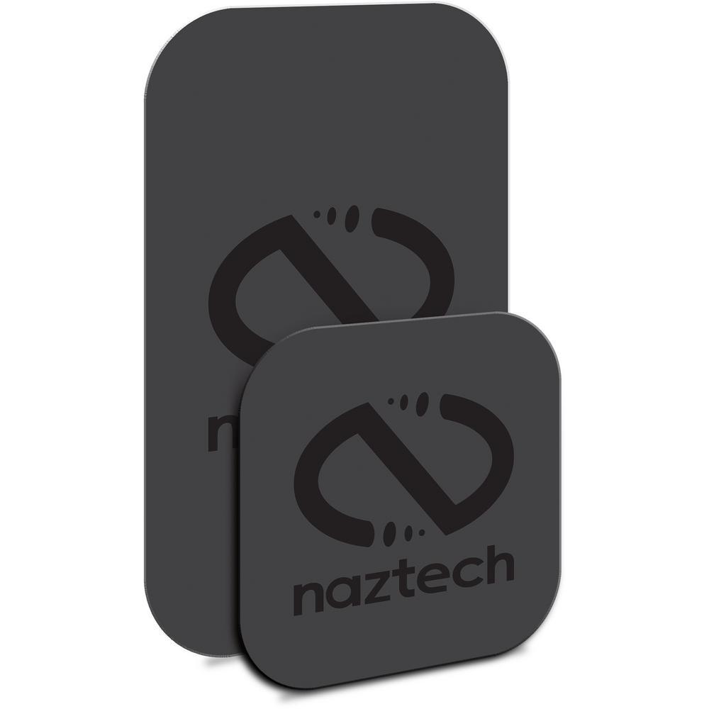 Naztech MagBuddy Cards/Plates, Black Naztech MagBuddy Cards/Plates, Black