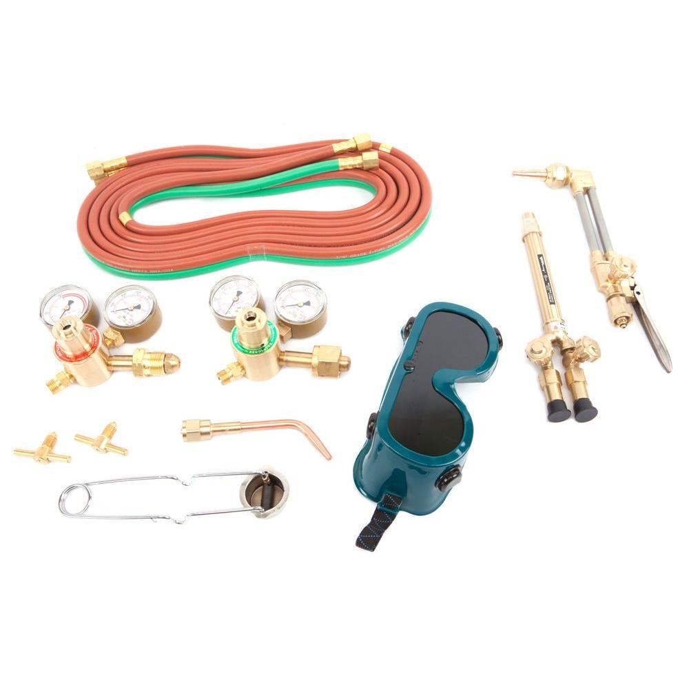 Medium Duty Oxygen Acetylene Victor Type Torch Kit
