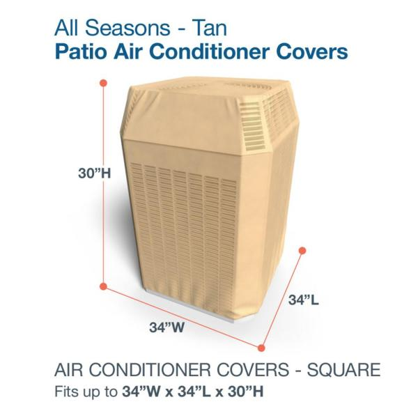Reviews For Budge All Seasons Square Ac Covers P9a19sf1 The Home Depot