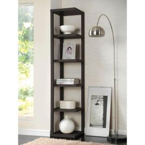 ACME Mileta Cappuccino Open Bookcase by ACME