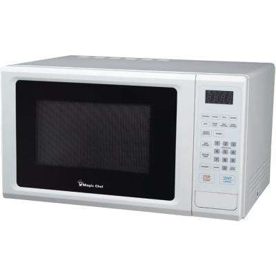 1.1 cu. ft. 1000-Watt Countertop Microwave with Digital Touch in White