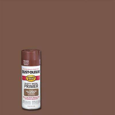 12 oz. Flat Rusty Metal Primer Spray