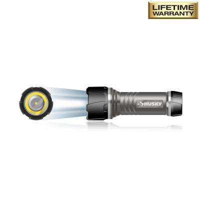 4AAA 350-Lumen LED Dual Beam Unbreakable Aluminum Flashlight