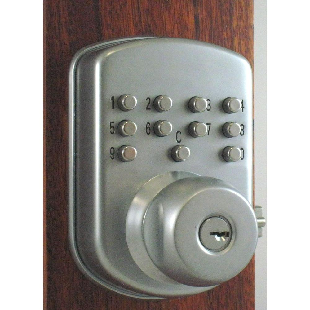 Morning Industry Mechanical Push Button Entry Knob-DISCONTINUED