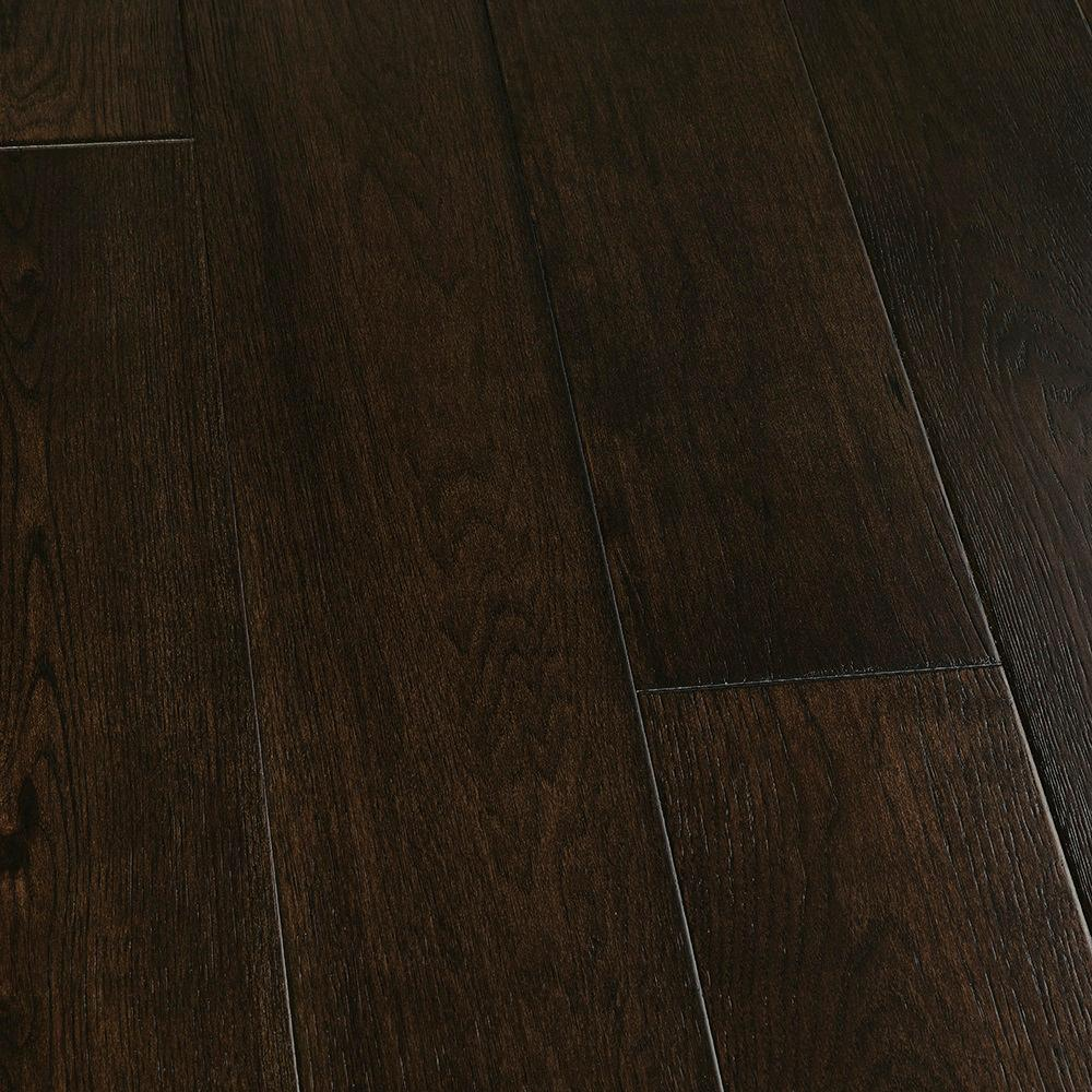 Malibu Wide Plank Take Home Sample Hickory Wadell Creek Engineered Hardwood Flooring 5 In. X 7 In.