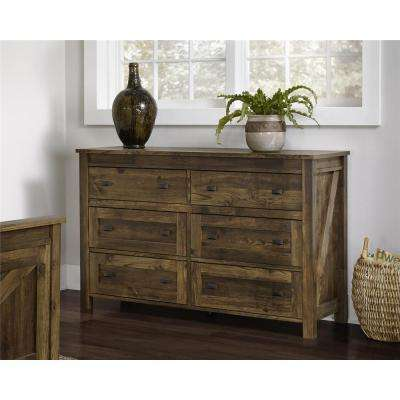 Farmington 6-Drawer Century Barn Pine Dresser