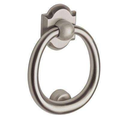 Satin Nickel Ring Door Knocker
