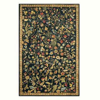 Bristol Black 9 ft. 9 in. x 13 ft. 9 in. Area Rug