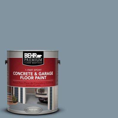 1 gal. #PFC-54 Blue Tundra 1-Part Epoxy Concrete and Garage Floor Paint