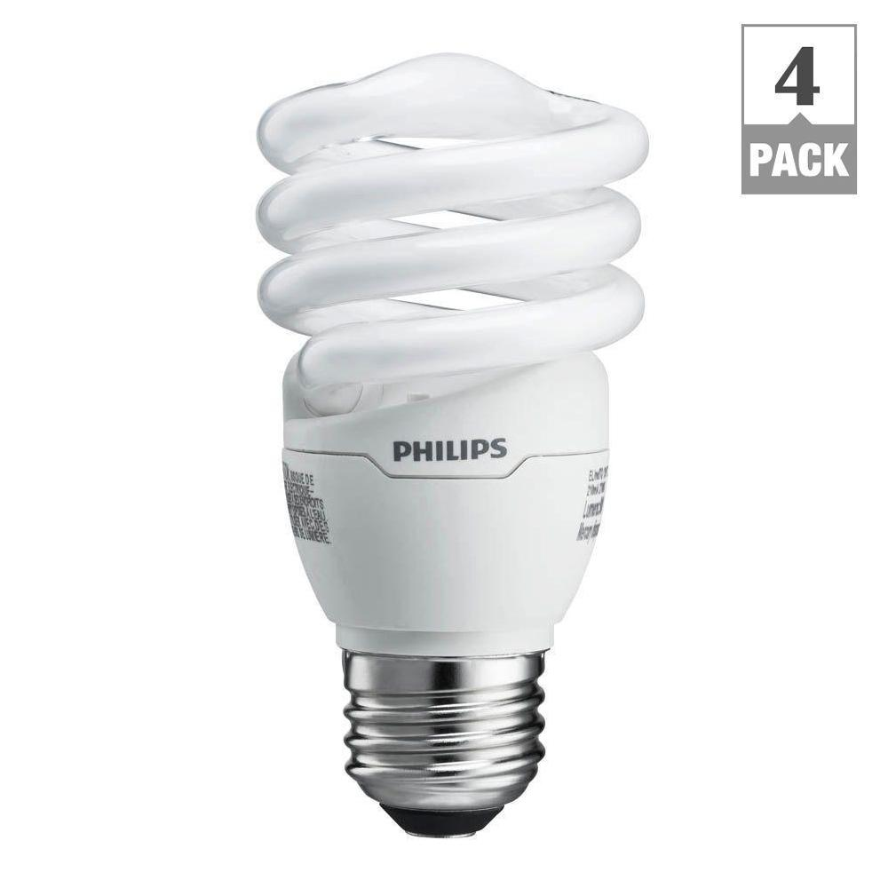 philips 60w equivalent soft white 2700k spiral a line. Black Bedroom Furniture Sets. Home Design Ideas