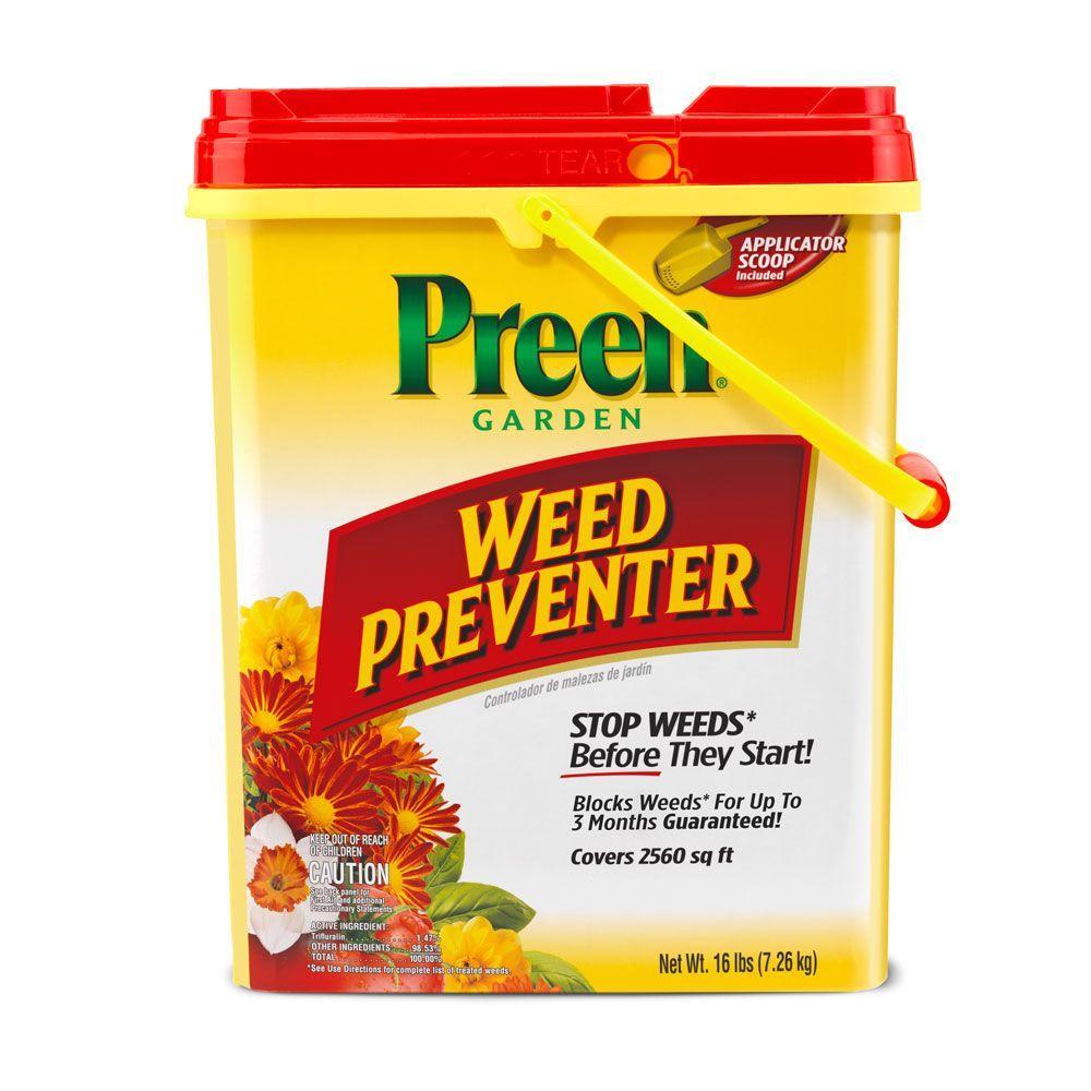 16 lb. Garden Weed Preventer Drum