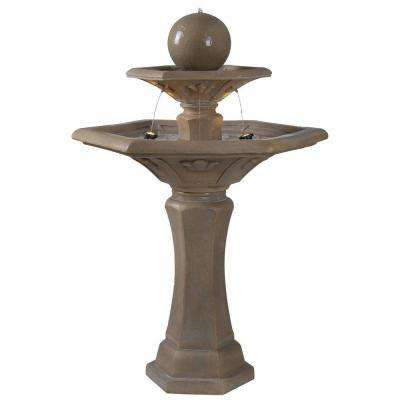 Provence Lighted Outdoor Fountain