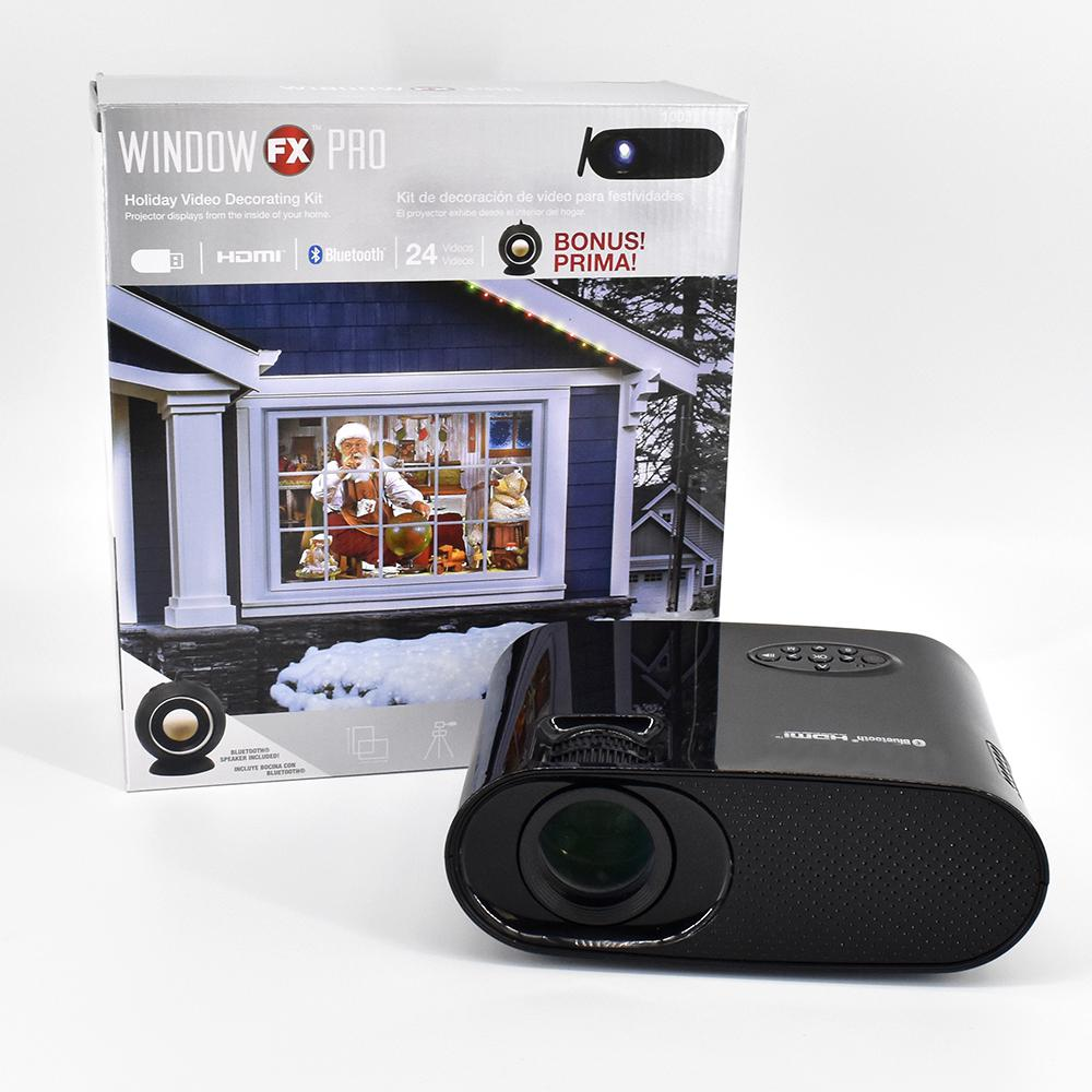 window fx pro projector with bluetooth and 3 watt speaker
