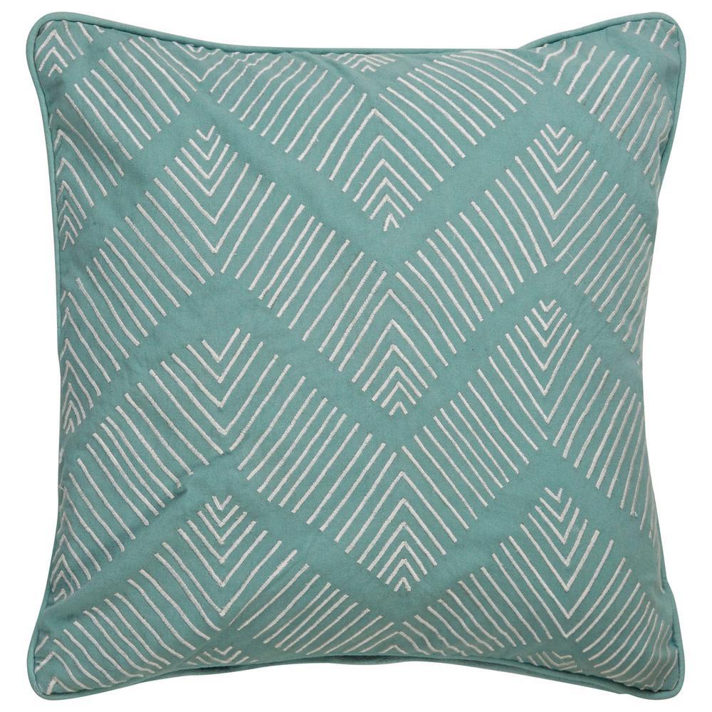 Dekota Wasabi Poly Decorative Pillow