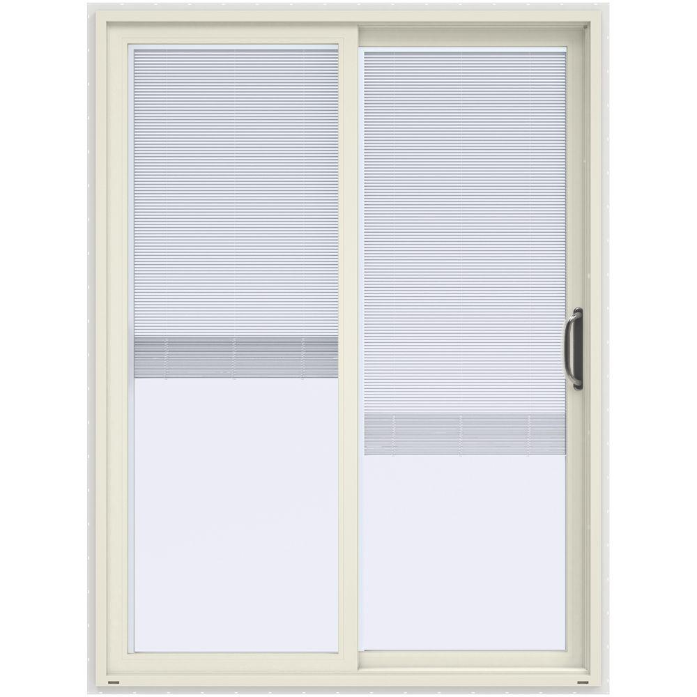 60 x 80 stanley doors the home depot for Prehung sliding glass doors