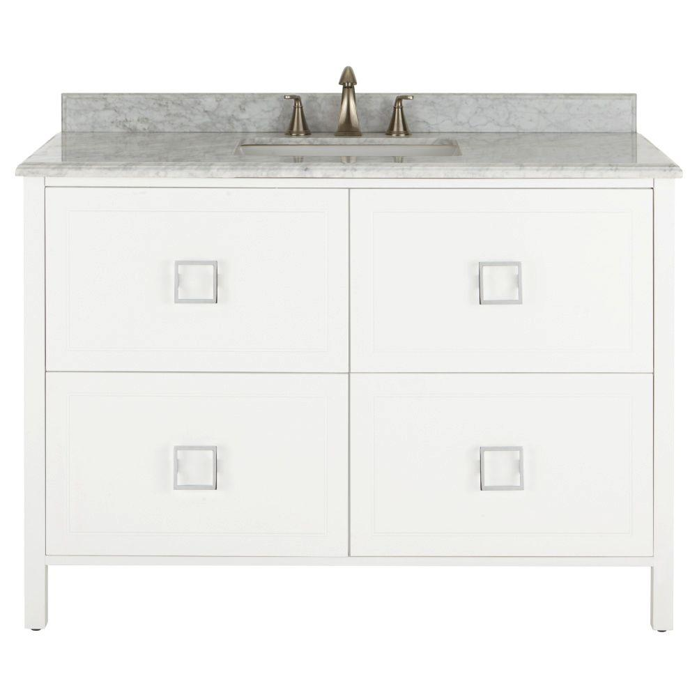 home decorators collection artisan vanity home decorators collection artisan 48 in w vanity in 12791
