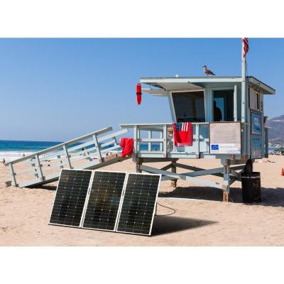Portable Solar Panels Renewable Energy The Home Depot