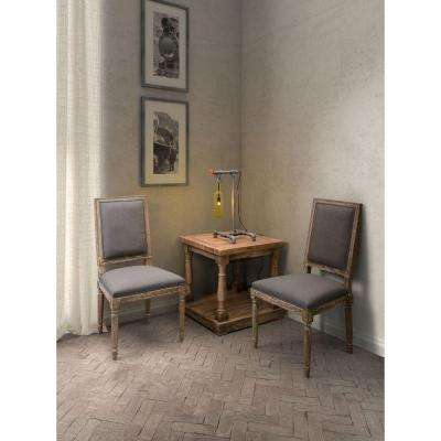 ZUO Cole Valley Beige Linen Dining Chair (Set of 2)