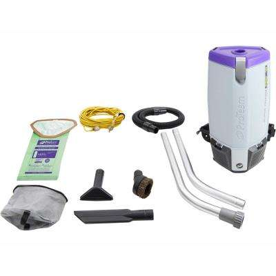 NEW More Powerful Proteam Super Coach Pro 10 Qt  Backpack Vacuum Cleaner