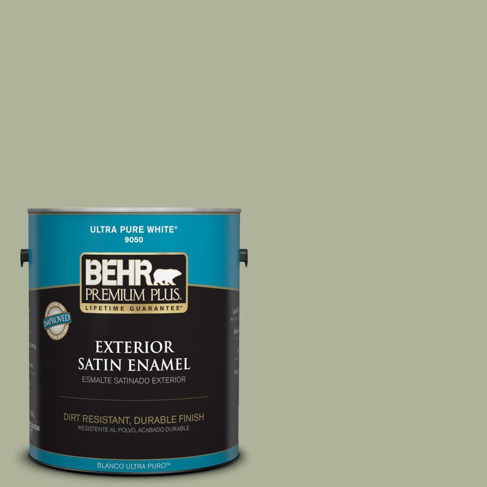 Home Decorators Collection 1-gal. #HDC-CT-28 Cottage Hill Satin Enamel Exterior
