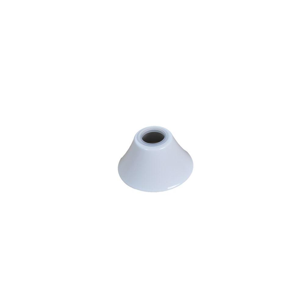 Carrington 60 in. White Ceiling Fan Replacement Collar Cover