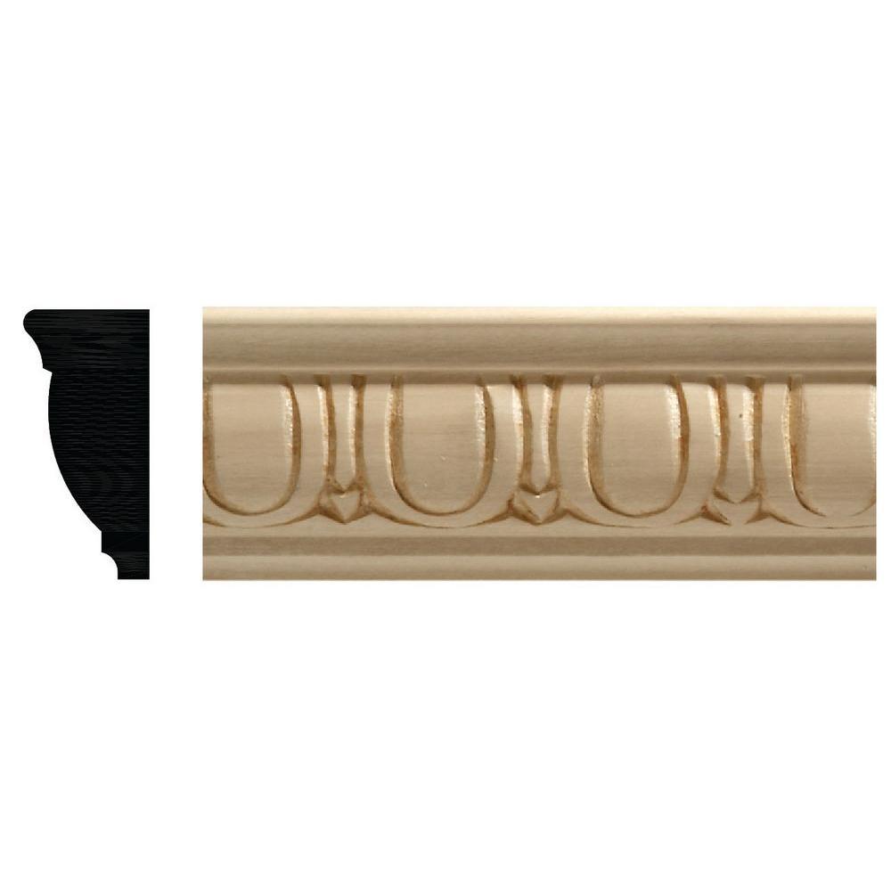 Ornamental Mouldings 7/8 In. X 1-7/8 In. X 96 In. White