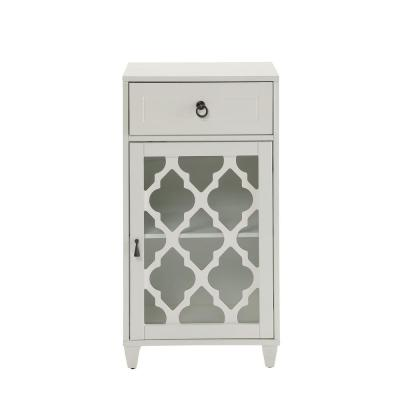Ceara White Side Table
