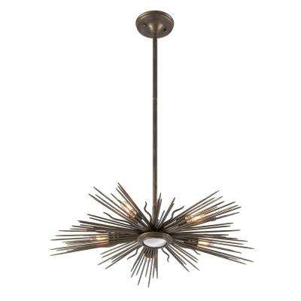 Blink 5-Light Light Cottage Bronze Outdoor Pendant