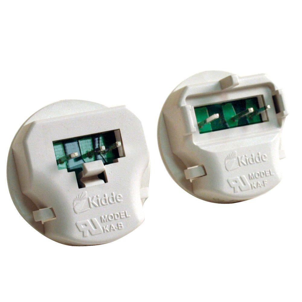 Kidde Smoke Alarm Adapters (2-Pack)-900-0153-012 - The Home Depot on open wire detector, 4 wire relay, 4 wire oven, 8 wire smoke detector, 2 wire smoke detector, 4 wire intercom, 4 wire range, 3 wire smoke detector, 4 wire furnace, 4 wire garage door opener, 4 wire generator, 4 wire switch, 4 wire pull stations, 4 wire stove, 4 wire duct detectors,