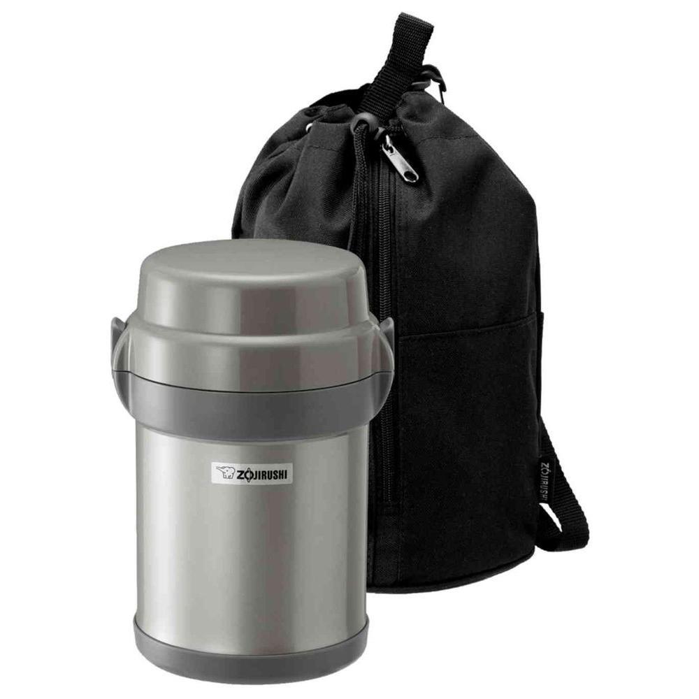 Zojirushi Mr. Bento Stainless Lunch Jar, Silver