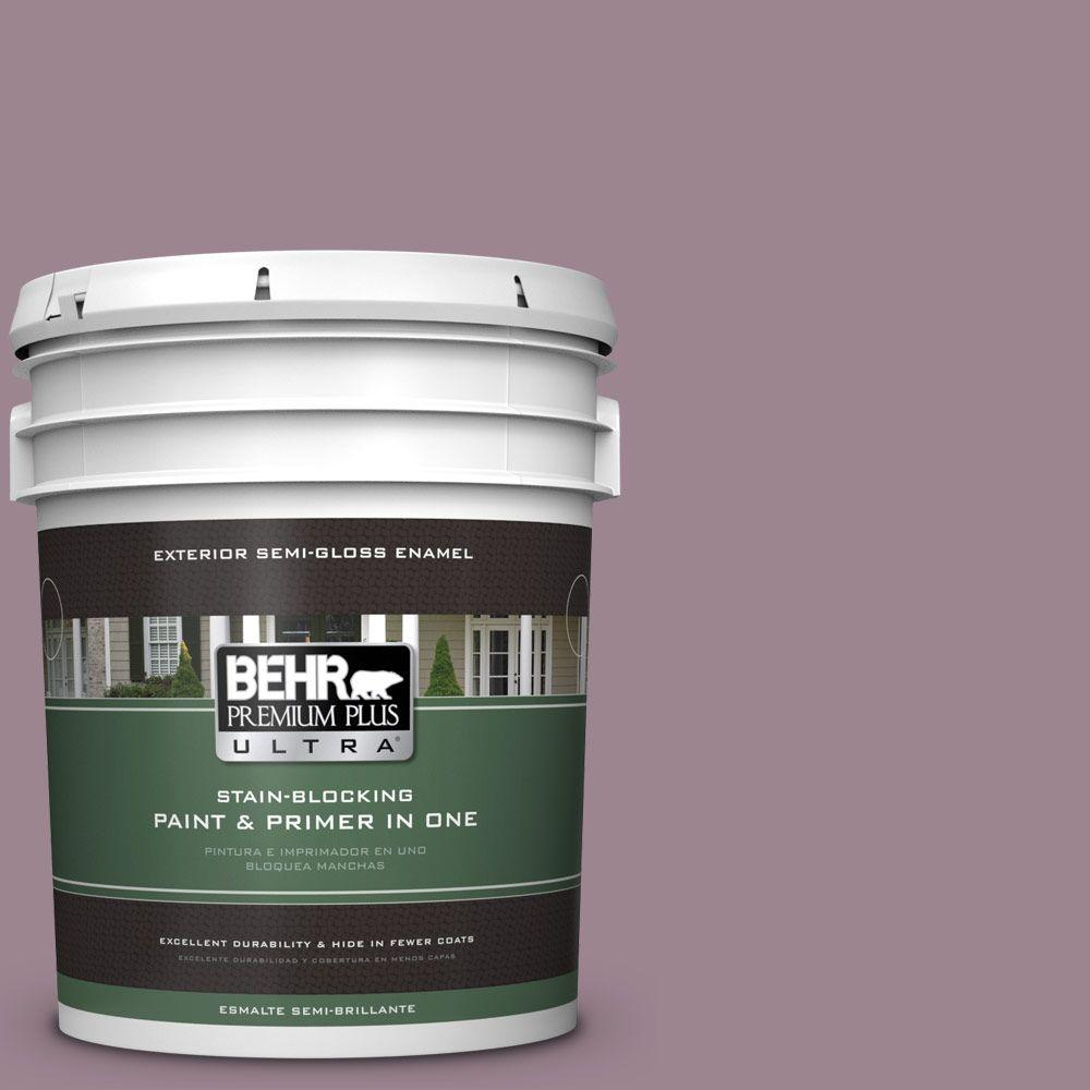 BEHR Premium Plus Ultra 5-gal. #PPU17-14 Dream Sunset Semi-Gloss Enamel Exterior Paint