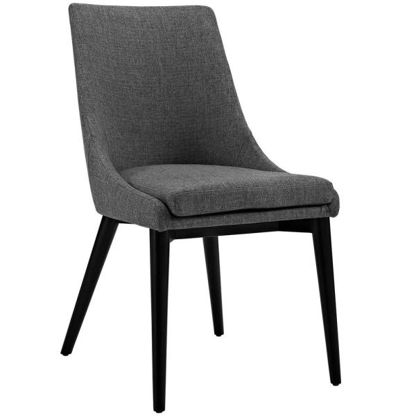 Modway Viscount Gray Fabric Dining Chair Eei 2227 Gry