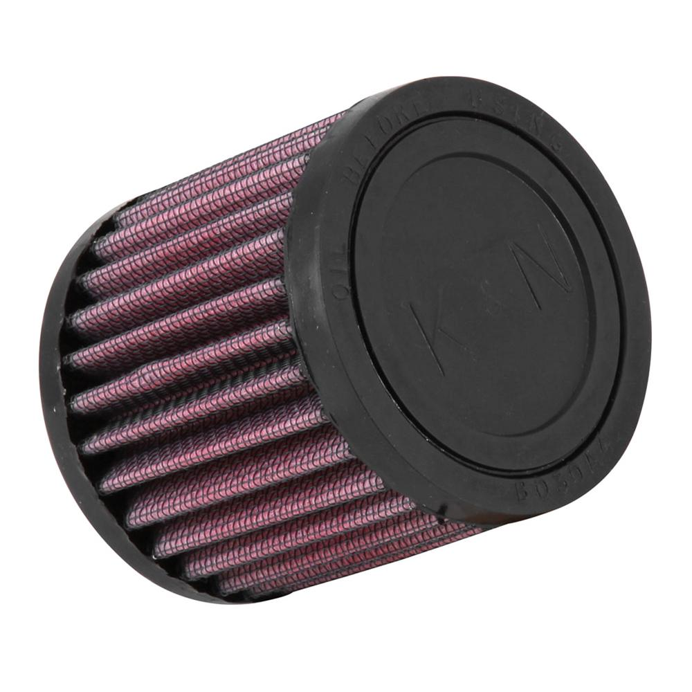 K&N Filter Universal Rubber Filter 1.25in Flange ID 3in OD 3in Height