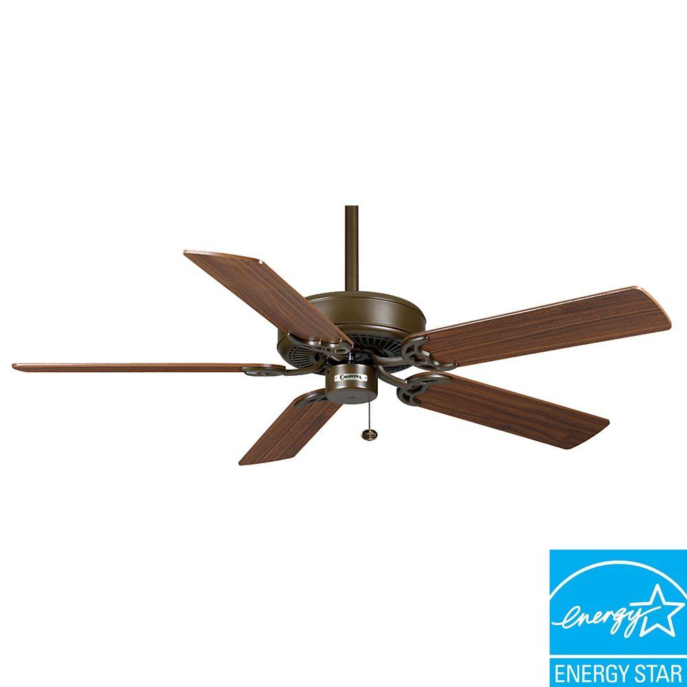 Casablanca Four Seasons III 52 in. Oil-Rubbed Bronze Ceiling Fan