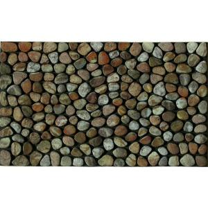 Apache Mills Pebble Beach 18 inch x 30 inch Recycled Rubber Door Mat by Apache Mills