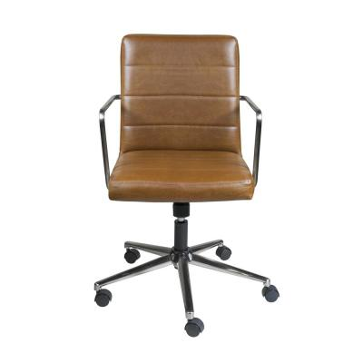 Leander Brown Low Back Office Chair  sc 1 st  Home Depot & Brown/Tan - Office Chairs - Home Office Furniture - The Home Depot