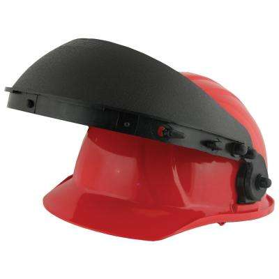 E17 Black Accessory Slot Face Shield Carrier