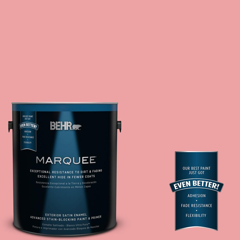 BEHR MARQUEE 1-gal. #P170-3 Infatuation Satin Enamel Exterior Paint
