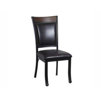 Franklin Rustic Umber Side Chair (Set of 2)