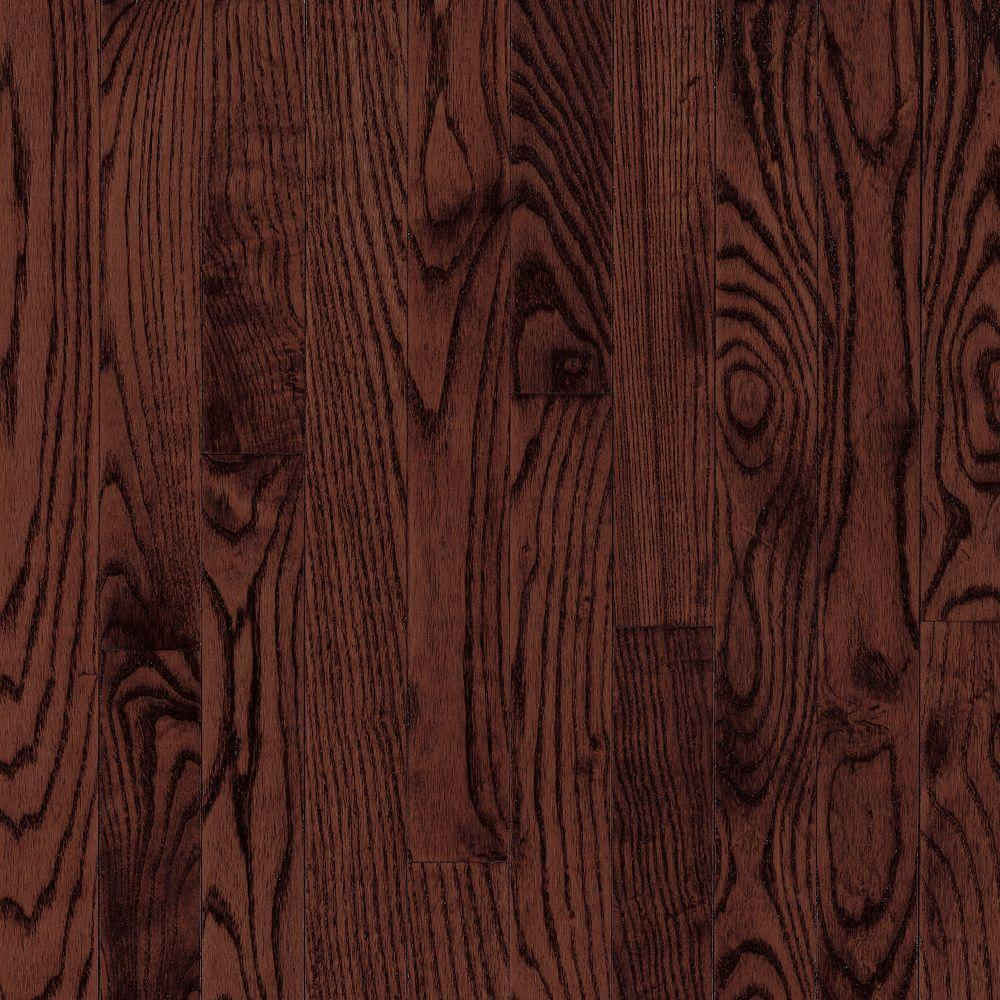 Laurel Cherry Oak Solid Hardwood Flooring - 5 in. x 7