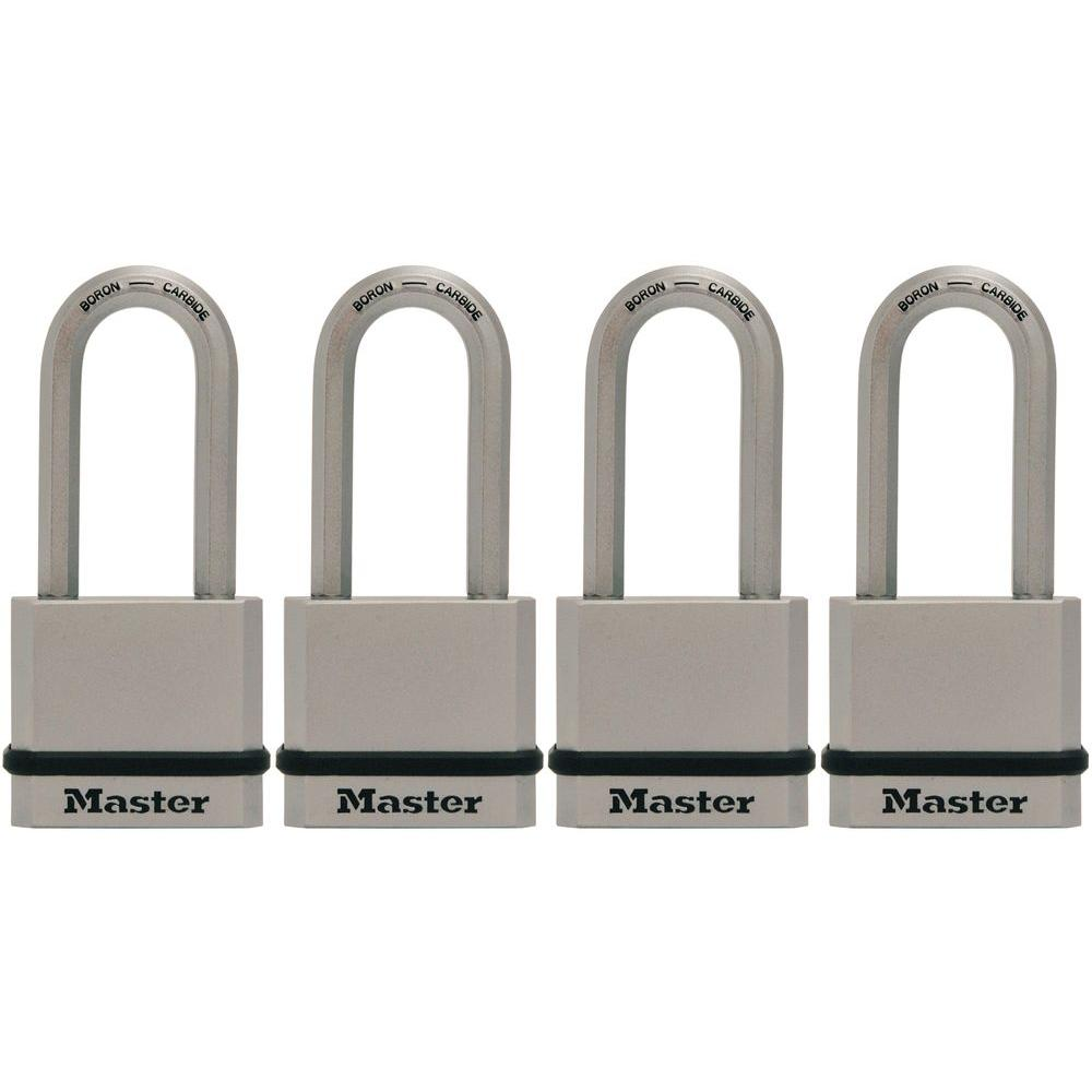 Master Lock Magnum 1 3 4 In Solid Steel Padlock With 2 In