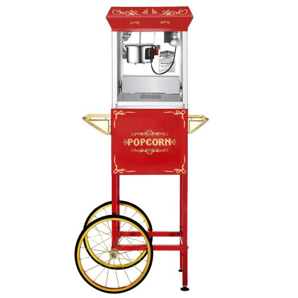 Great Northern Foundation 6 oz. Popcorn Machine & Cart HWD630250