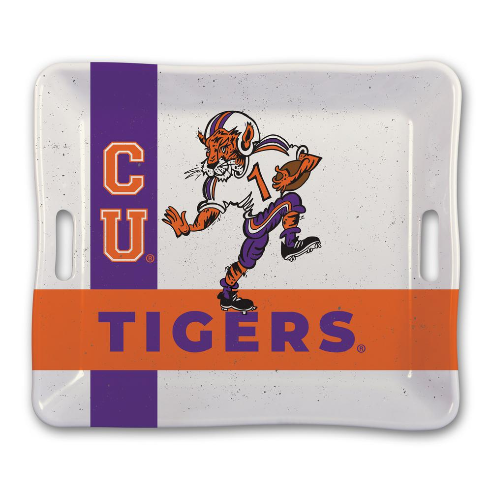 Clemson Melamine Serving Tray