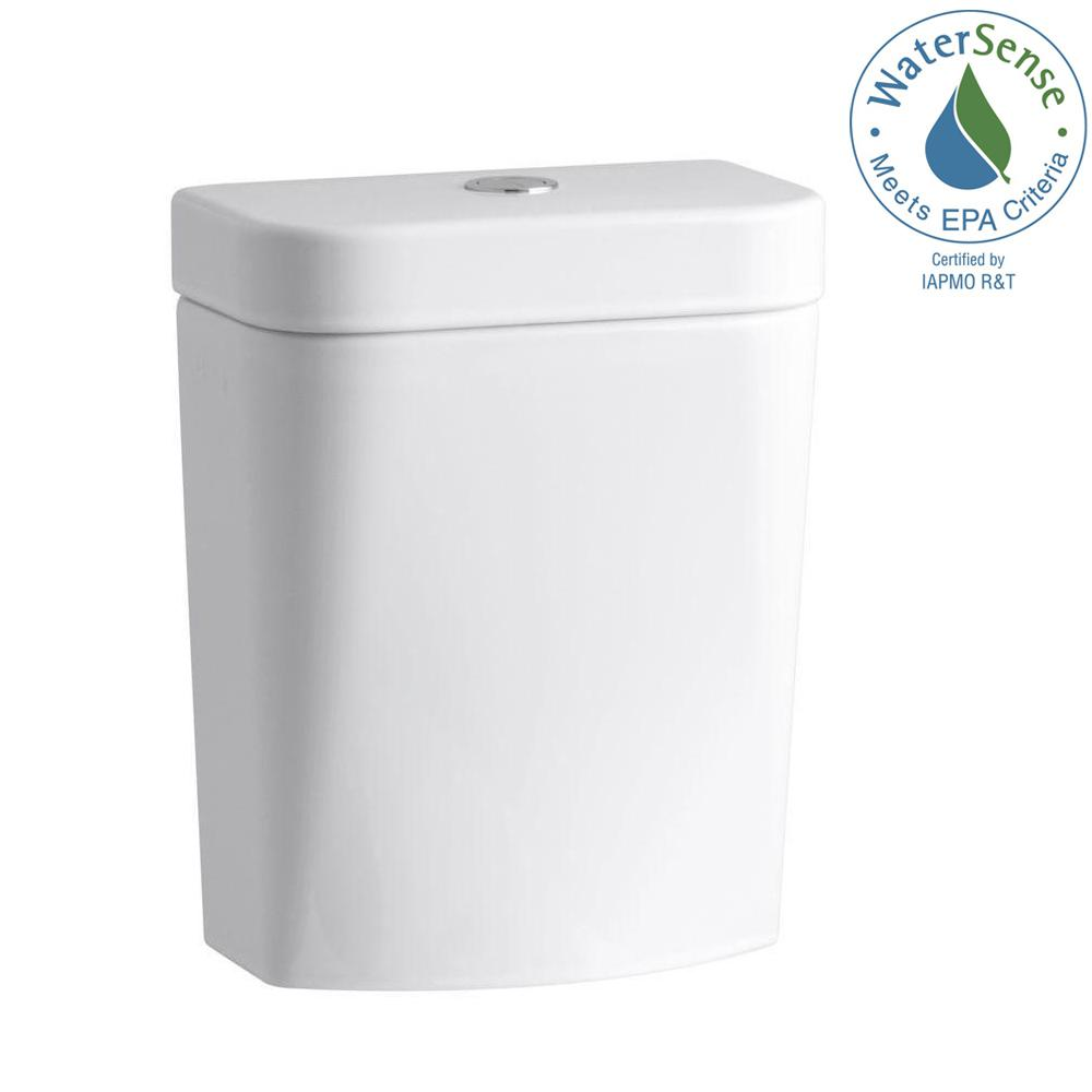 KOHLER Persuade Circ 1.0 or 1.6 GPF Dual Flush Toilet Tank Only in White