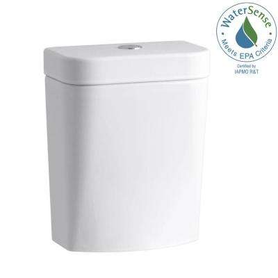 Persuade Circ 1.0 or 1.6 GPF Dual Flush Toilet Tank Only in White