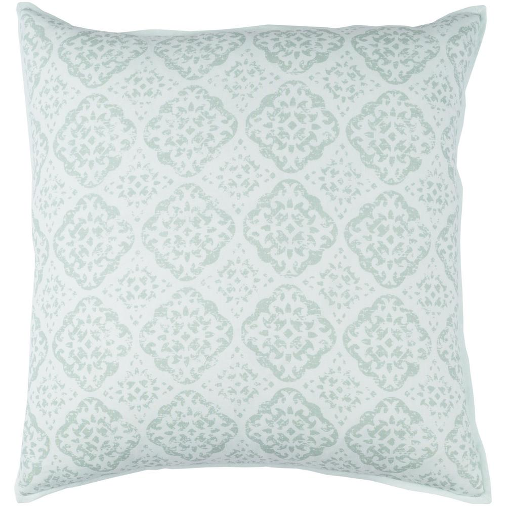 Artistic Weavers Coalecroft Green Graphic Polyester 18 In X 18 In Throw Pillow S00161000355 The Home Depot