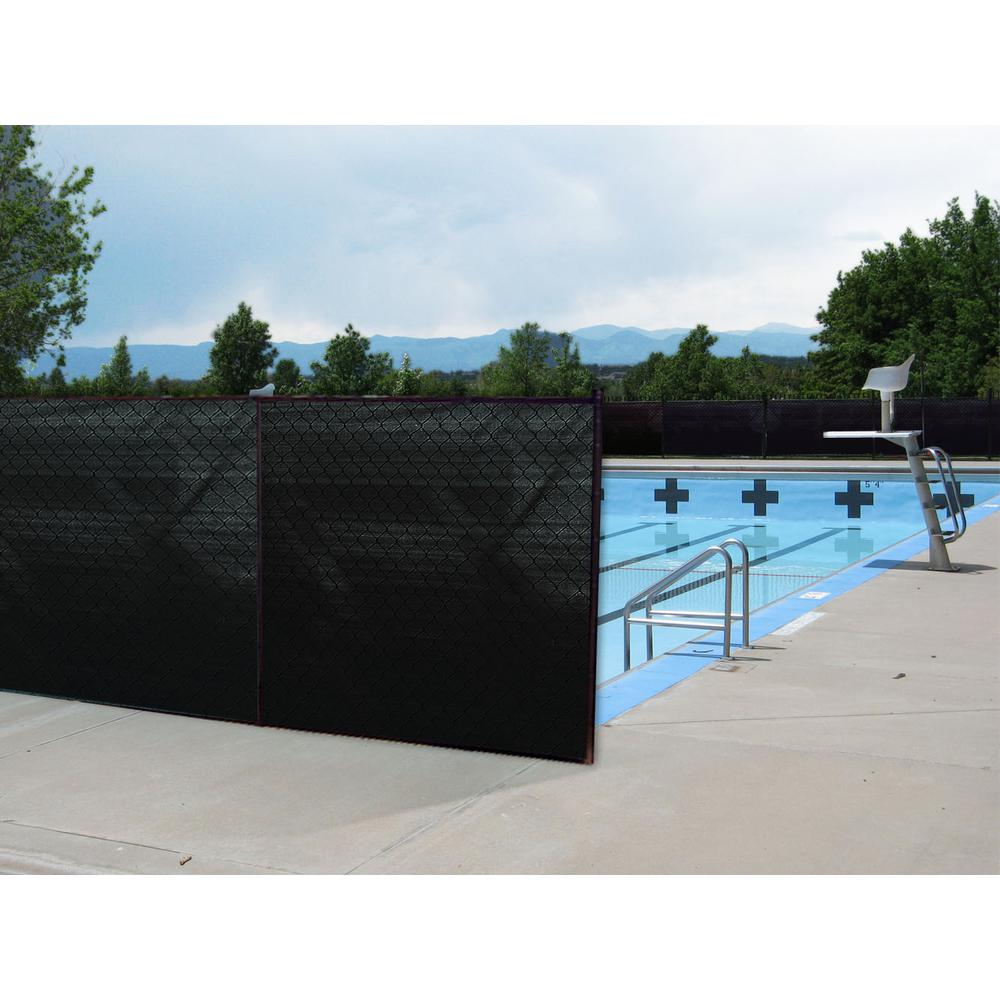 Black Privacy Fence Screen Netting With Reinforced Grommets