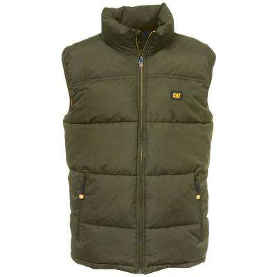 Arctic Zone Men's X-Large Army Moss Polyester Vest